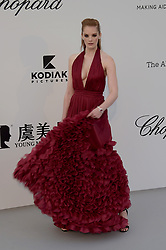 May 23, 2019 - Cannes, France - Cap d'Antibes, Red Carpet for the 26th amfAR Gala Cannes. .Pictured: Alexina Graham (Credit Image: © Alberto Terenghi/IPA via ZUMA Press)