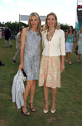 Left to right, KIM HERSOV and ALLEGRA HICKS at the Cartier International polo at Guards Polo Club, Windsor Great Park, on 30th July 2006.<br /><br />NON EXCLUSIVE - WORLD RIGHTS