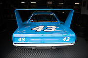 Richard Petty and his 1970 Superbird Stockcar
