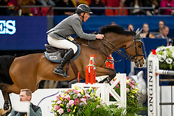 Beerbaum Ludger, GER, Cool Feeling<br /> Göteborg - Gothenburg Horse Show 2019 <br /> Longines FEI World Cup™ Final II<br /> Int. jumping competition with jump-off (1.50 - 1.60 m)<br /> Longines FEI Jumping World Cup™ Final and FEI Dressage World Cup™ Final<br /> 05. April 2019<br /> © www.sportfotos-lafrentz.de/Dirk Caremans
