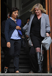 © Licensed to London News Pictures. 08/10/14. CAPE TOWN, SOUTH AFRICA -   Mrs Nilam Hindocha, mother of deceased Anni Dewani, leaves court during Day 3 of the Shrien Dewani trial at the Cape High Court before Judge Jeanette Traverso. Dewani is caused of hiring hit men to murder his wife, Anni. Anni Ninna Dewani (née Hindocha; 12 March 1982 – 13 November 2010) was a Swedish woman who, while on her honeymoon in South Africa, was kidnapped and then murdered in Gugulethu township near Cape Town on 13 November 2010 . Photo credit : Roger Sedres/LNP