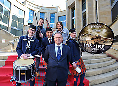 Piping Live! 2018 launch photocall, Glasgow, 16 May 2018