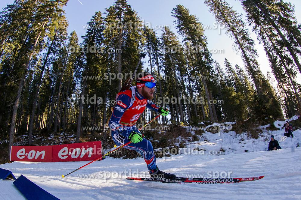 Michal Slesingr (CZE) competes during Men 12,5 km Pursuit at day 3 of IBU Biathlon World Cup 2015/16 Pokljuka, on December 19, 2015 in Rudno polje, Pokljuka, Slovenia. Photo by Urban Urbanc / Sportida