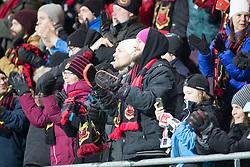 """November 23, 2017 - –Stersund, SVERIGE - 171123 publik under fotbollsmatchen i Europa League mellan Östersund och Zorja Luhansk  den 23 november 2017 i Östersund  (Credit Image: © Tobias NykÃ""""Nen/Bildbyran via ZUMA Wire)"""