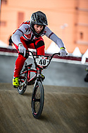 #40 (NAVRESTAD Tore) NOR at Round 5 of the 2019 UCI BMX Supercross World Cup in Saint-Quentin-En-Yvelines, France