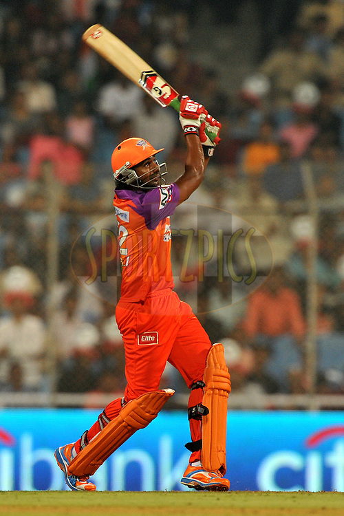 Raiphi Gomez of Kochi Tuskers Kerala bats during  match 10 of the Indian Premier League ( IPL ) Season 4 between the Pune Warriors and the Kochi Tuskers Kerala held at the Dr DY Patil Sports Academy, Mumbai India on the 12th April 2011...Photo by Pal Pillai /BCCI/SPORTZPICS . during  match 10 of the Indian Premier League ( IPL ) Season 4 between the Pune Warriors and the Kochi Tuskers Kerala held at the Dr DY Patil Sports Academy, Mumbai India on the 12th April 2011..Photo by Pal Pillai /BCCI/SPORTZPICS