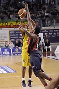 DESCRIZIONE : Ancona Lega A 2012-13 Sutor Montegranaro Angelico Biella<br /> GIOCATORE : Ronald Steele<br /> CATEGORIA : tiro<br /> SQUADRA : Sutor Montegranaro<br /> EVENTO : Campionato Lega A 2012-2013 <br /> GARA : Sutor Montegranaro Angelico Biella<br /> DATA : 02/12/2012<br /> SPORT : Pallacanestro <br /> AUTORE : Agenzia Ciamillo-Castoria/C.De Massis<br /> Galleria : Lega Basket A 2012-2013  <br /> Fotonotizia : Ancona Lega A 2012-13 Sutor Montegranaro Angelico Biella<br /> Predefinita :