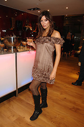 Model CATALINA GUIRADO at the official launch of Kate Kuba & UGG Australia store, 22 Duke of York Square, London SW3 on 10th October 2007.<br />