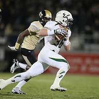 South Florida Bulls fullback Ryan Eppes (36) runs with the football during an NCAA football game between the South Florida Bulls and the 17th ranked University of Central Florida Knights at Bright House Networks Stadium on Friday, November 29, 2013 in Orlando, Florida. (AP Photo/Alex Menendez)