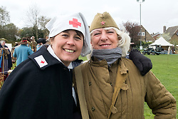 DRK nurse and Soviet nurse 699th Field Hospital<br />