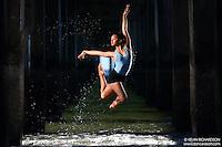 Dance As Art The New York City Photography Project Coney Island Boardwalk Beach Series with dancer Angelica Mondol Viaña