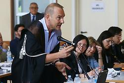 PUBBLICO MINISTERO STEFANO LONGHI<br /> UDIENZA PROCESSO CARIFE CASSA RISPARMIO DI FERRARA A PONTELAGOSCURO