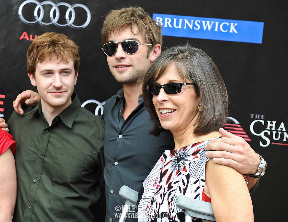Joeseph Mazello, Chace Crawford and guest