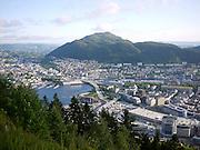 Bergen, Norway Elevated view Viewed from Mount Floyen