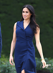 Meghan Duchess of Sussex at the Government House Reception and to watch a demonstration by the This Girl Can campaign, Melbourne, Australia. Photo credit should read: Doug Peters/EMPICS