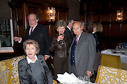 JANE CHURCHILL; CLAUS VON BULOW; JASNE STEVENS; NED RYAN, Graydon and Anna Carter host a lunch for Carolina Herrera to celebrate the ipening of her new shop on Mount St. .The Connaught. London. 20 January 2010