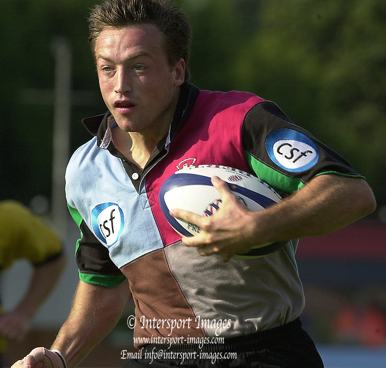 Intersport Images. .Photo: Peter Spurrier.Zurich Premiership - NEC Harlequins v London Wasps.Dan Luger... ...........[Mandatory Credit, Peter Spurrier/ Intersport Images][Mandatory Credit, Peter Spurrier/ Intersport Images]