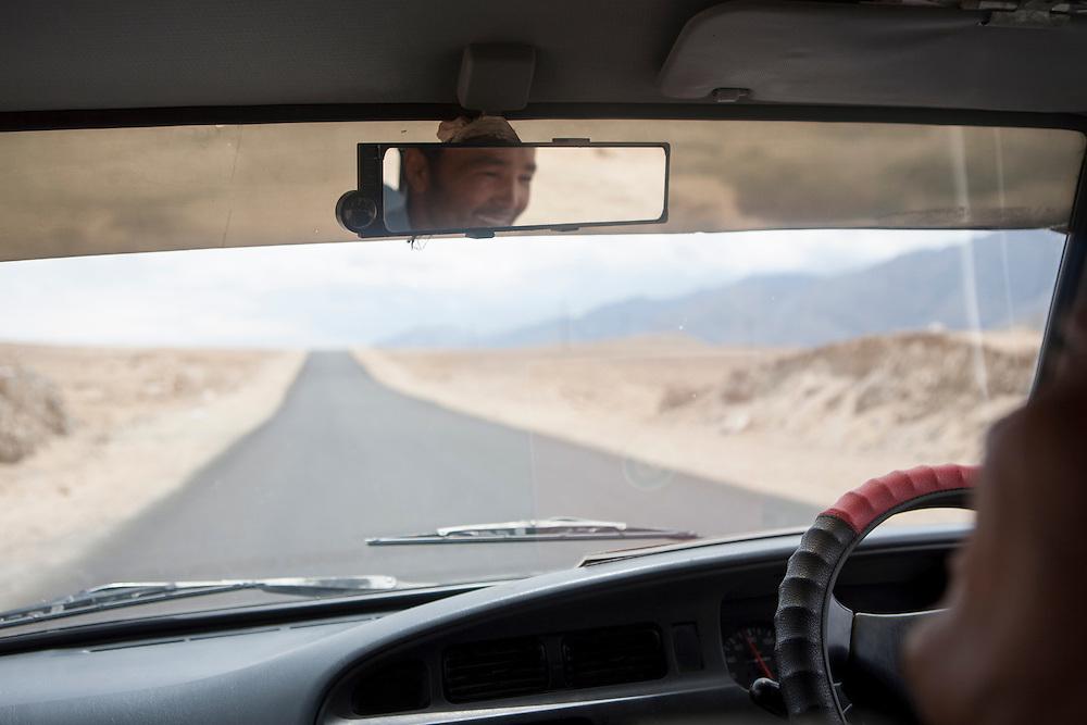 Taxi driver in Ladakh, Himalaya, India.