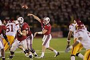 COLLEGE FOOTBALL<br /> Kyle Matter #11 - Stanford Quarterback<br /> Stanford vs USC<br /> Nov 9, 2002<br /> Stanford Stadium<br /> Stanford, CA<br /> <br /> &copy; David Madison 2002