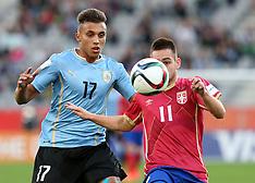 Dunedin-Fooball, Under 20 World Cup, Uruguay v Serbia