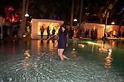 MICHELLE LANE; AGNES THOR, Visionaire party. Delano  Hotel.  Miami Art Basel 2011. 2December 2011.