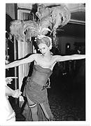 Valentine Guinness. Piers Gaveston Ball. Park Lane Hotel. 1984 approx. © Copyright Photograph by Dafydd Jones 66 Stockwell Park Rd. London SW9 0DA Tel 020 7733 0108 www.dafjones.com