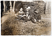 friends together Japan ca 1930s