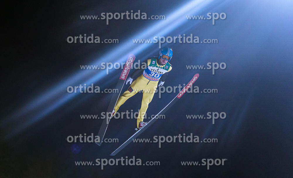 05.01.2015, Paul Ausserleitner Schanze, Bischofshofen, AUT, FIS Ski Sprung Weltcup, 63. Vierschanzentournee, Qualifikation, im Bild Ilmir Hazetdinov (RUS) // during Qualification of 63rd Four Hills Tournament of FIS Ski Jumping World Cup at the Paul Ausserleitner Schanze, Bischofshofen, Austria on 2015/01/05. EXPA Pictures © 2015, PhotoCredit: EXPA/ JFK