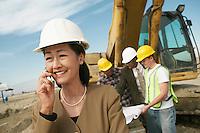 Surveyor Using Cell Phone