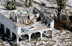 September 14, 2017 - Duck Key, Florida, U.S. - A home in Big Pine Key in Florida Keys was destroyed after Hurricane Irma. (Credit Image: © Mike Stocker/Sun-Sentinel via ZUMA Wire)