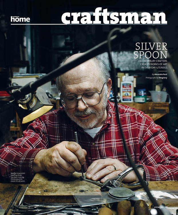 Old Newbury Crafters for Northshore Home Magazine