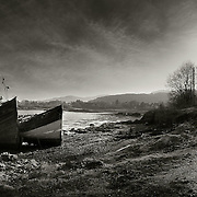 Fishing wrecks, Salen, Isle of Mull