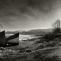 Fishing wrecks, Salen, Isle of Mull