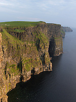 Ireland western coast Burren region Cliffs of Moher limestone landscape