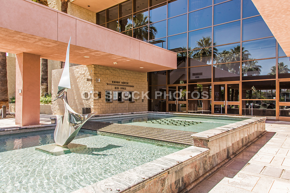 McCallum Theater Front Entrance Palm Desert California