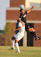 OC Men's Soccer Scrimmage SS - 8/21/2012