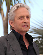 "Michael Douglas attends ""Behind The Candelabra"" photo call  during the 66th Annual Cannes Film Festival at the Palais des Festivals on May 21, 2013 in Cannes, France.."