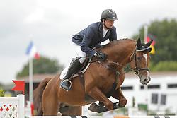 Haßmann, Felix, Horse Gym´s Balzaci<br /> Ehlersdorf - Ehlersdorfer Turniertage 2014<br /> Grosser Preis<br /> © www.sportfotos-lafrentz.de/ Stefan Lafrentz