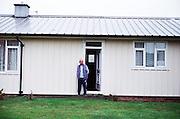 Post-war prefabs in Redditch, UK 2003