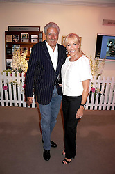 MR & MRS DAVID MORRIS he is the jeweller at the annual Sotheby's Summer Party held at their auction rooms 34-35 New Bond Street, London W1 on 19th June 2008.<br /><br />NON EXCLUSIVE - WORLD RIGHTS