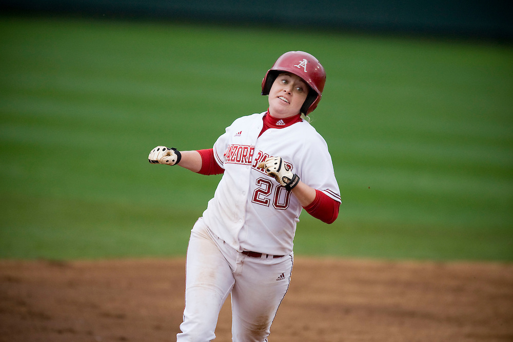 University of Arkansas Razorback Women's Softball action photos during the 2008-2009 season in Fayetteville, Arkansas....©Wesley Hitt.All Rights Reserved.501-258-0920.