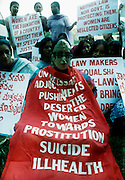 BANGALORE,2000.<br /> Protesters demanding speedy justice for women.