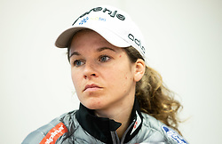 Alenka Cebasek during press conference of Slovenian Nordic Ski Cross country team before new season 2019/20, on Novamber 8, 2019, in SZS, Ljubljana, Slovenia. Photo by Vid Ponikvar / Sportida