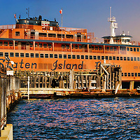 HDR image of New York's Staten Island Ferry.