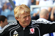 Loftus Road, London - Saturday 11th September 2010: Gordon Strachan, manager of Middlesborough looks on during the Npower Championship match between Queens Park Rangers and Middlesborough. (Photo by Andrew Tobin/Focus Images)