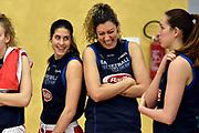 Maddalena Gaia Gorini, Alessandra Formica<br /> Raduno Nazionale Italiana Femminile Senior - Allenamento<br /> FIP 2017<br /> Montegrotto Terme, 27/02/2017<br /> Foto Ciamillo - Castoria