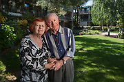 Client: The Stevenson House - portrait of residents at the senior housing community in Palo Alto, CA.