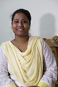 Yasmin is a garment worker....