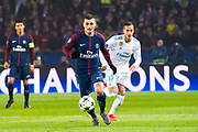 Marco Verratti (psg) during the UEFA Champions League, round of 16, 2nd leg football match between Paris Saint-Germain FC and Real Madrid CF on March 6, 2018 at Parc des Princes stadium in Paris, France - Photo Pierre Charlier / ProSportsImages / DPPI