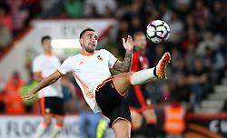 Paco Alcacer of Valencia controls the ball - Mandatory by-line: Robbie Stephenson/JMP - 03/08/2016 - FOOTBALL - Vitality Stadium - Bournemouth, England - AFC Bournemouth v Valencia - Pre-season friendly